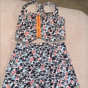 Floral matching set